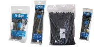 Cable ties and other fastening accessories
