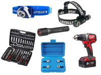 Tools and fastening accessories